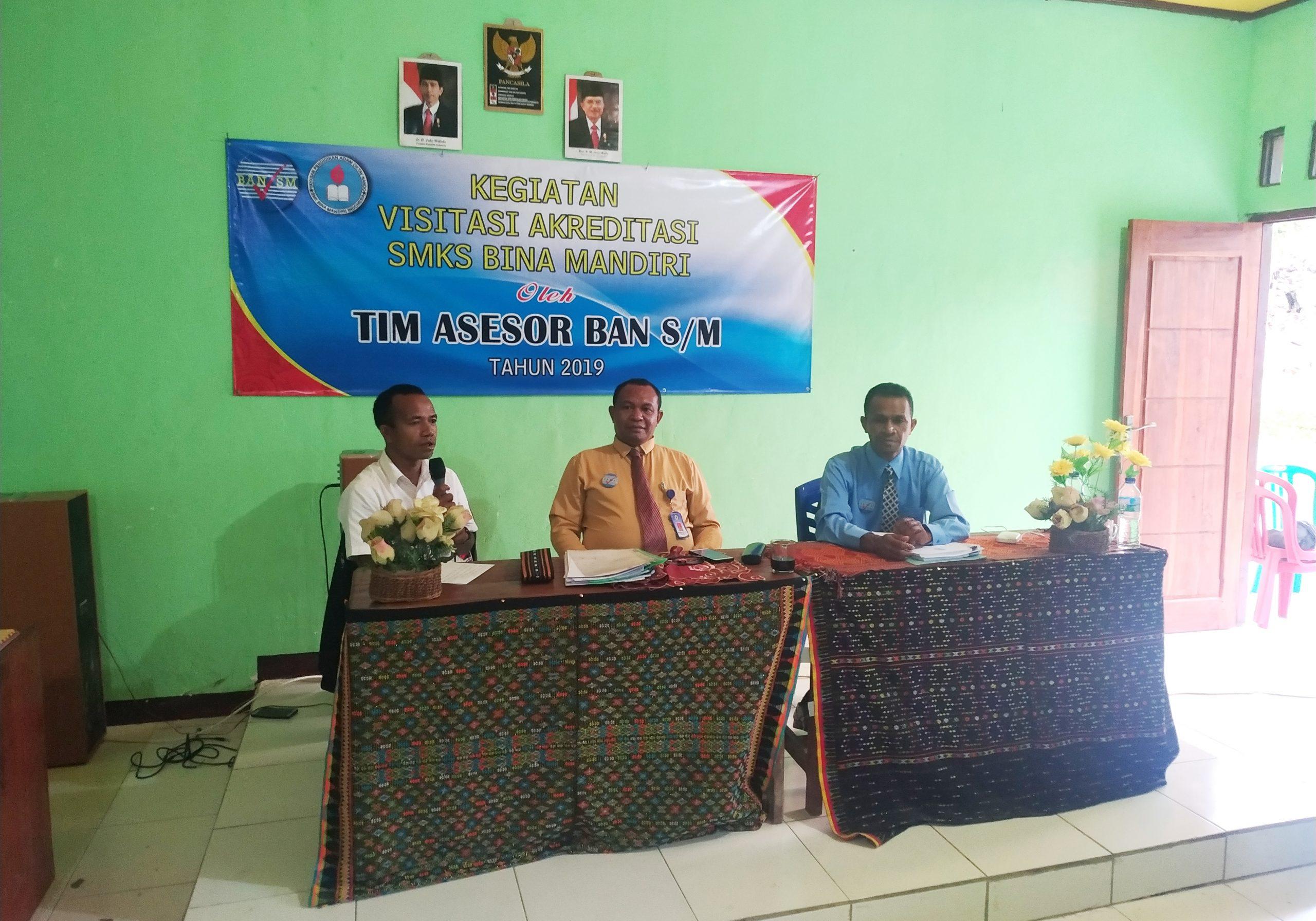 SMKS Bina Mandiri Gelar Akreditasi Sekolah 1